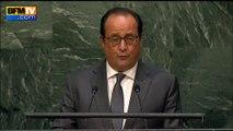 """Hollande sur la Cop21: si aucune décision n'est prise, """"ce sera trop tard pour le monde"""""""