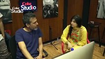 Reaction Of Gul Panra Singing With Atif Aslam in Coke Studio | NEW FUNNY CLIP 2015