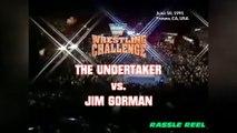 1991-06-18 WWF Wrestling Challenge - The Undertaker VS Jim Gorman
