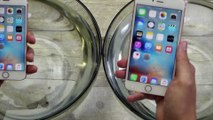 Les smartphones Apple iPhone 6s vs iPhone 6s Plus sont-ils étanches... Waterproof test