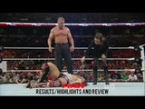 Daniel Bryan vs Triple HHH-Monday Night Raw 28th Sept