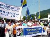 Bosnie: les musulmans commémorent le massacre de Srebrenica