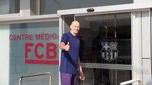 Revisió mèdica Lubos Barton, nou jugador del Barça B (bàsquet)