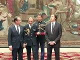 Paul McCartney décoré de la Légion d'honneur par François Hollande