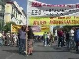 Grèce: manifestations émaillées d'incidents contre les nouvelles mesures