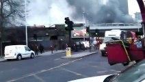 Crash d'un hélicoptère dans le centre de Londres