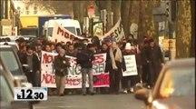 Une marche symbolique pour les réfugiés afghans