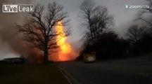 Gigantesque incendie aux Etats-Unis