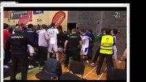 Bagarre générale lors d'un match de handball