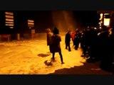 Violentes vagues à Saint Malo