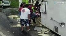 Colombie : au moins 7 morts dans un accident de bus