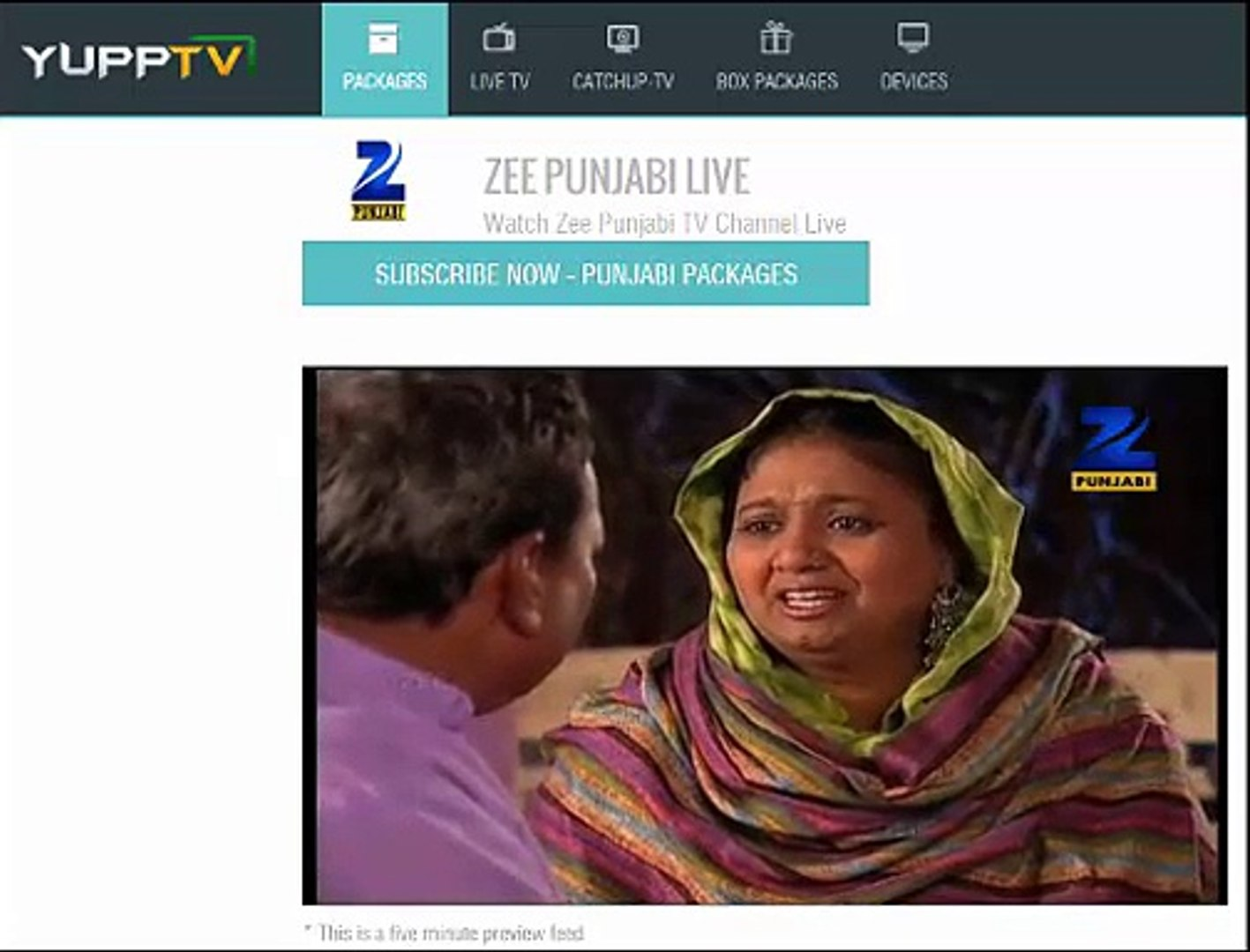 Watch Zee Punjabi Live