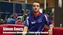 Euro 2015 : Simon Gauzy