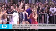 'Dancing With the Stars' Pair Wowed With 'Breaking Bad'-inspired Routine