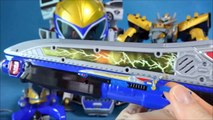 Power to base the Reno Airport, gold die-Nano figures or robots quart Francisco premiere interior packing toys unboxing Power Rangers Dino Charge Gold'dino figure&toys