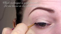 Amazing makeup tutorial videos :12 EYELINER TUTORIALS - For all Eye Shapes