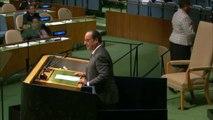 Pour François Hollande, le départ de Bachar Al-Assad est la seule solution