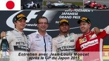 Entretien avec Jean-Louis Moncet après le GP du Japon 2015