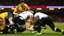 RWC Re:LIVE - Pocock try gives Australia the edge