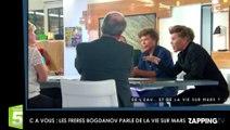 """C à Vous – Les frères Bogdanov : De la vie sur Mars ? """"Il y en a eu"""""""