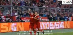 Robert Lewandowski Goal Bayern 2 - 0 Dinamo Zagreb Champions League 29-9-2015