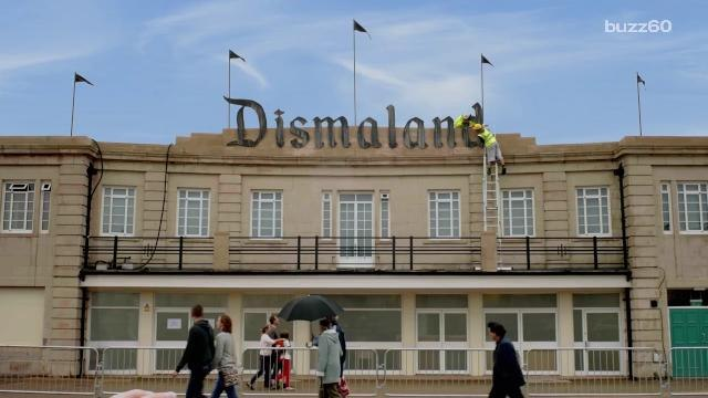 Banksy's tearing down Dismaland to shelter refugees in France