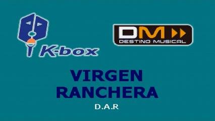 Karaoke Box - Virgen Ranchera (In The Style Of / Al Estilo De : Mariachi) - (Karaoke)