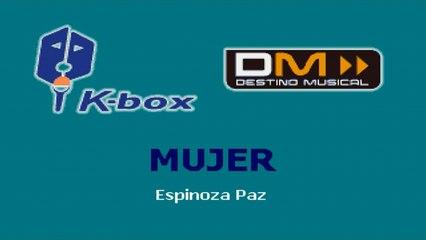 Karaoke Box - Mujer (In The Style Of / Al Estilo De : Espinoza Paz) - (Karaoke)