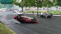 BMW Se Voltea En Carrera De Drift | BMW M3 Drift  Fail 2015