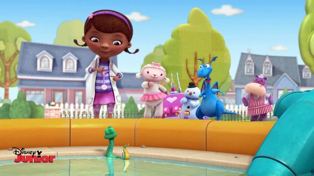 Disney Junior | Doc McStuffins | Oooey Gablooey Springs a Leak