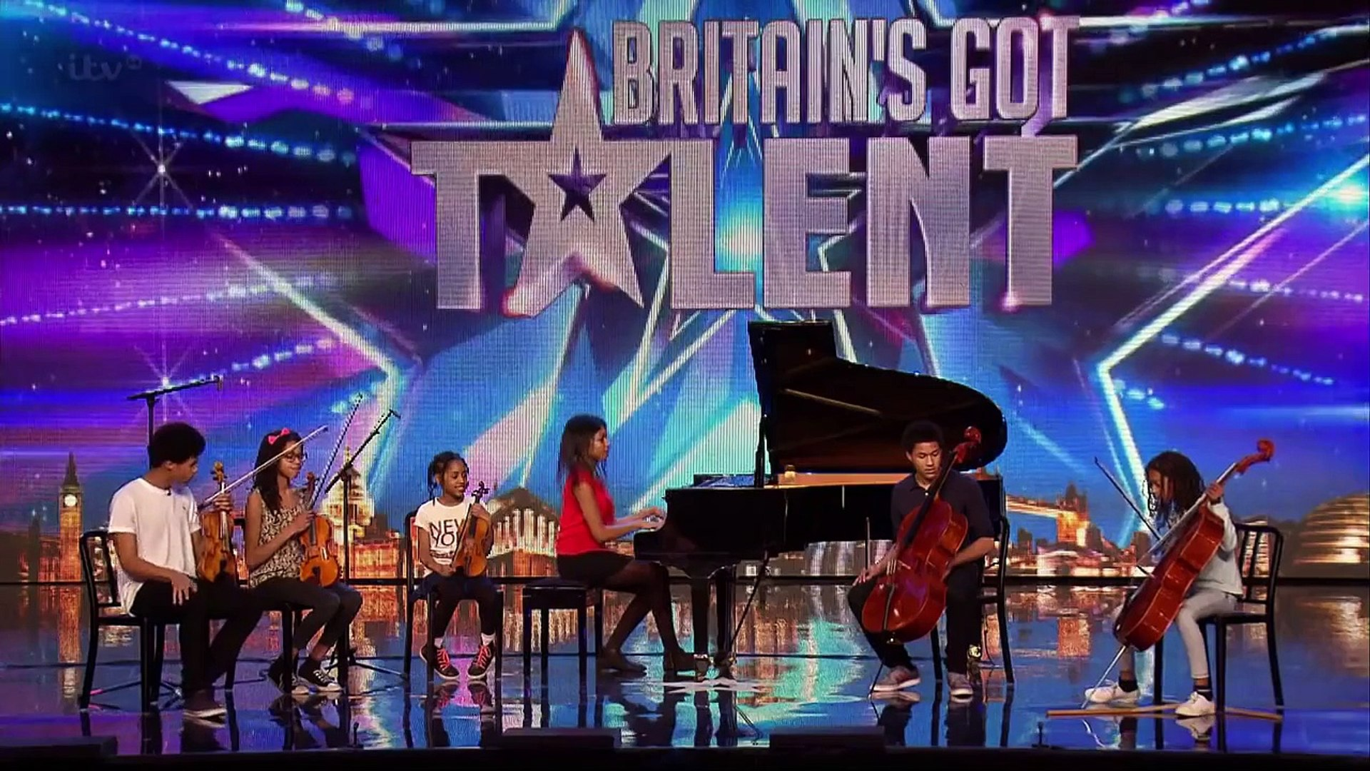Britains Got Talent 2015 S09E07 The Kanneh Masons Six Piece Family Classical Orchestra