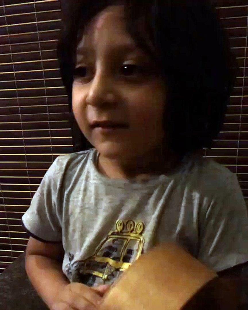 Ahad Bilal Saeed Singing a song   very cute   NICE SONG   HD Video