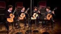 """Camille Saint-Saëns : """"Danse Macabre"""" par le Quatuor Eclisses I Le live de la matinale"""