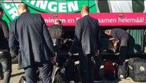 Spelers FC op zoek naar de juiste koffer voor vertrek naar Braga - RTV Noord