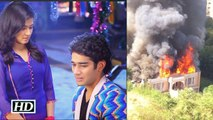 Fire on Sets of Star Plus show Tu Mera Hero