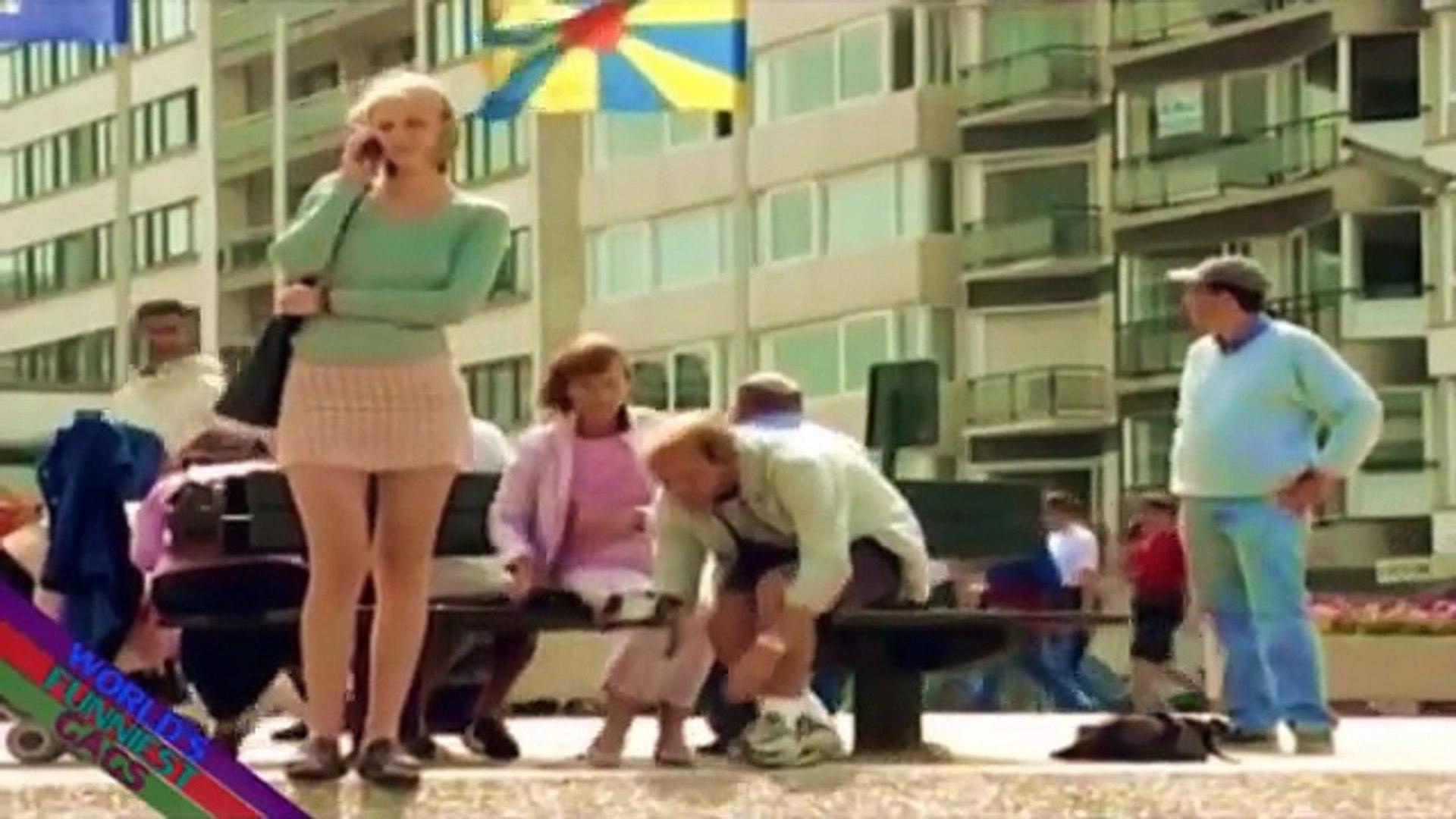 FUNNY Prank Videos Sexy Skirt Prank Sexy Women Dancing