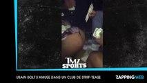 Usain Bolt prend du bon temps dans un club de strip-tease