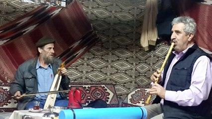 Sultanmurat'ta Kemençe ve Kaval düeti