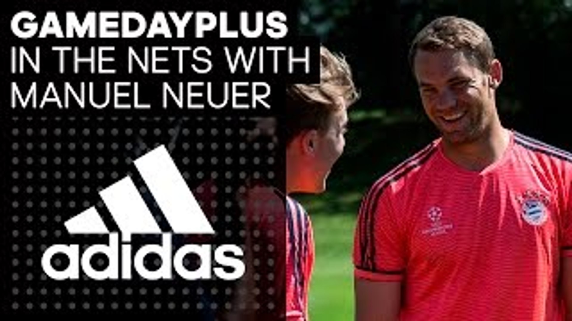 Goalkeeper Training With Manuel Neuer Gamedayplus adidas Football