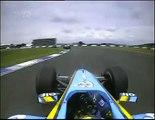 2004 British GP- Kimi Raikkonen, Schumacher, Alonso