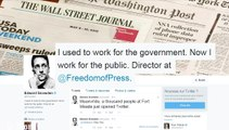 @snowden, le compte Twitter d'Edward Snowden