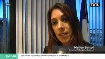 Marion Bartoli reçoit la médaille du mérite