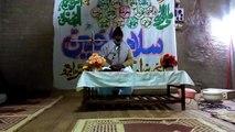 Majilis-Molvi Ashab Ali Abro  -2014-(Azadary Jean Abro)