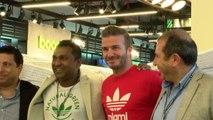 David Beckham Opens New Adidas Store in Dubai