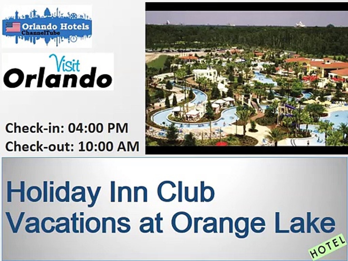Holiday Inn Club Vacations at Orange Lake | Beautiful Orlando Hotels ideas  and pic info