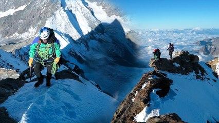 Cervin Cervino Matterhorn Arête du Lion Arête Sud-Ouest