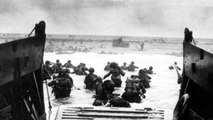 CBS reports from Normandy on D-Day assault