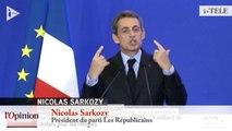 TextO' : Nicolas Sarkozy : « Je n'accepterai aucun dérapage »