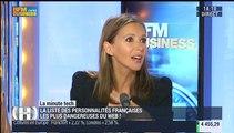 La Minute Tech : le classement des personnalités françaises les plus dangereuses du web a été révélé - 30/09