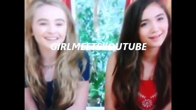 EXCLUSIVE Girl Meets World Girl Meets Cory And Topanga Clip #3